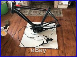 2017 cube touring 54cm ebike electric bike mid drive Bosch active motor and fra