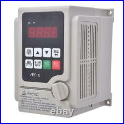 3.7KW 220V Monofase A Trifase VFD Inverter Frequenza Variabile Motore Drive