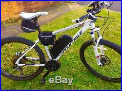 Cannondale electric bike 48v 750w mid drive motor collection Romford