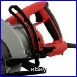 Corded Circular Saw 7 1/4 Inch Blade 15 Amp Electric Motor 4400 RPM Worm Drive
