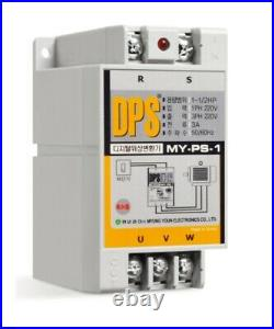 Digital Phase Shifter MY-PS-1 3A 1HP Drive 3 Phase motor with 1 Phase 220VAC