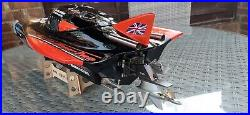 Dragon R/c Powerboat V24 With Stern Drive And Motor Upgrade Esc Not Included