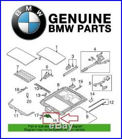 Electric Sliding Sunroof Motor Drive Unit with Module OES for BMW E39 E53 528i