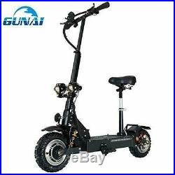 GUNAI Electric Scooters Adult 3200W Motor Max Speed 70km/h Double Drive 11