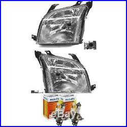 Halogen Headlight Set Ford Fusion Year 08/02-09/05 H4 with Motor 56749168