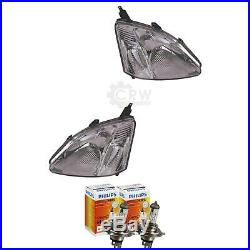 Headlight Set For Honda Civic VII Hatchback with Motor Incl. Philips