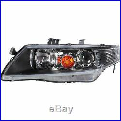 Headlight Set Right and Left for Honda Accord 03-05 H1 +H1 Incl. Motor