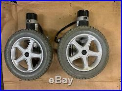 KYMCO vivio solid Drive wheels with motor / gearbox electric wheelchair parts