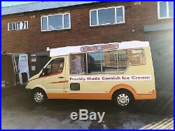 L@@K ATTENTION Sprinter with all important electric motor drive. Ice cream van