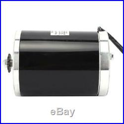 MY1020 DC 48V 1000W 3000RPM Electric Drive Motor Gear Reducer For Scooter Bike