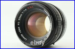 NEAR MINT Canon A-1 + FD 50mm f/1.4 S. S. C. Lens + Motor Drive MA From JAPAN