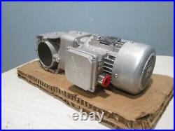 NORD HEAVY DUTY INVERTER ELECTRIC MOTOR SK80S/4 withGEAR DRIVE 3PH 230/460V