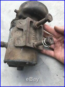 Vintage North East Electric 6 Volt Starter Motor Chain Drive For Parts