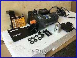 WNS Bead Roller Power Drive Electric Motor System Variable Speed (BRD-22)